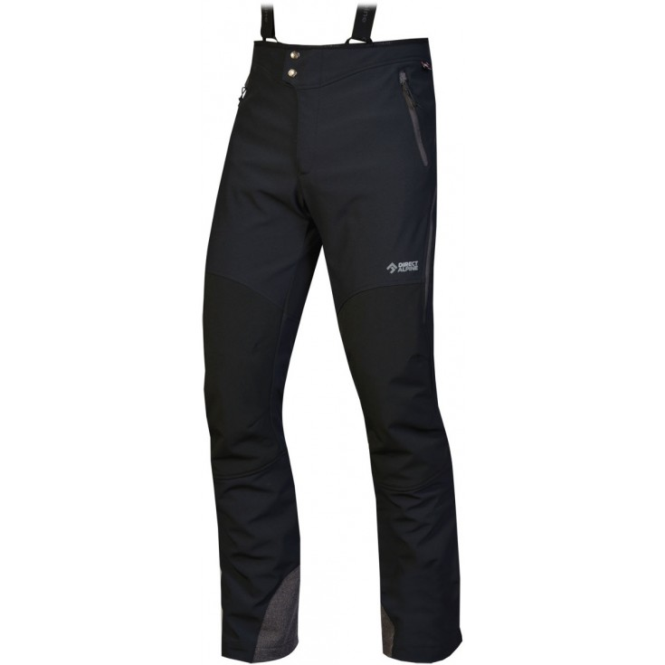Pantalon softshell homme Couloir 7.0 noir-anthracite Directalpine