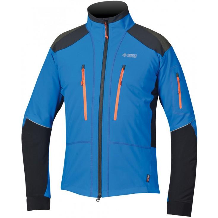 veste softshell homme summit 3 0 bleu orange directalpine montania sport. Black Bedroom Furniture Sets. Home Design Ideas