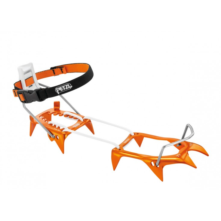 Crampons LEOPARD LLF orange Petzl