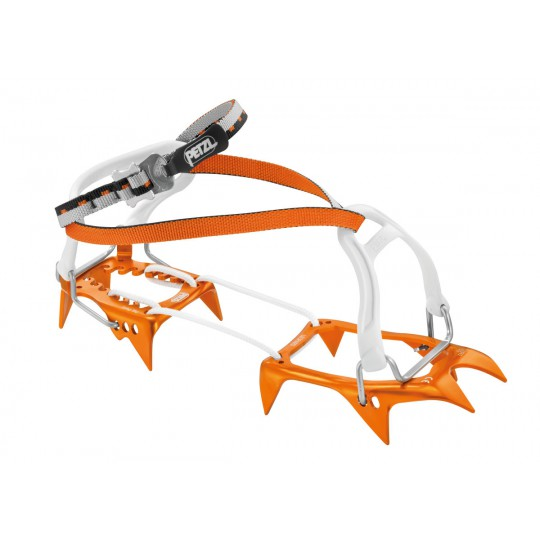 Crampons LEOPARD FL orange Petzl