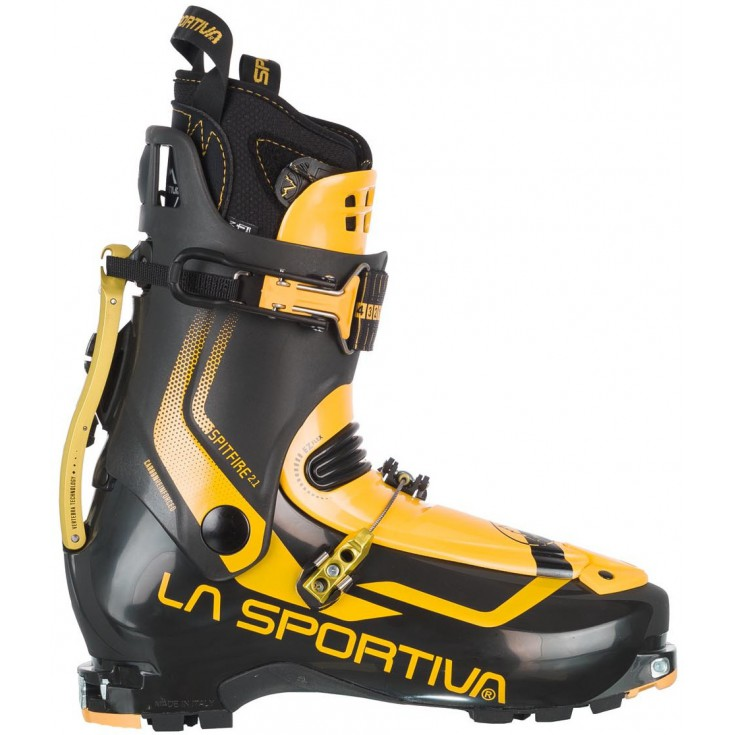 Chaussure ski de rando Spitfire 2.1 noir-jaune LaSportiva