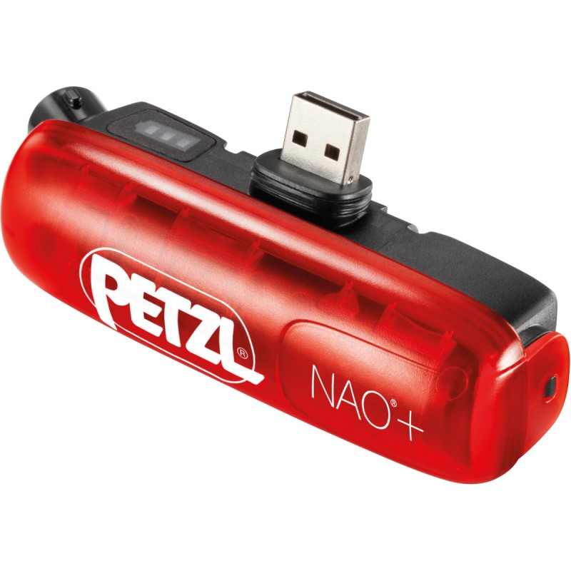 Lampe Frontale Rechargeable Nao Rouge 750 Lumens Petzl Montania Sport