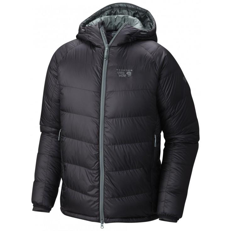 Doudoune à capuche homme Phantom Hooded Down Jacket noire Mountain Hardwear