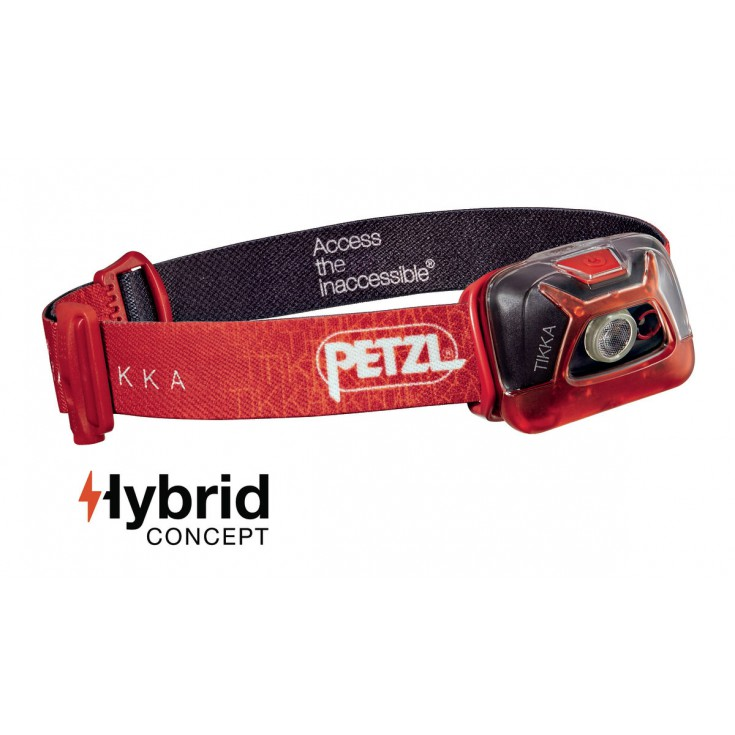 Lampe frontale Tikka rouge 200 lumens Petzl 2017