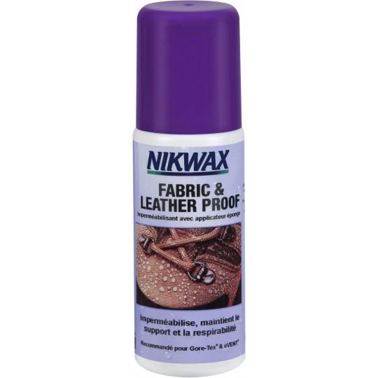 Imperméabilisant pour chaussures Goretex FABRIC & LEATHER PROOF Nikwax