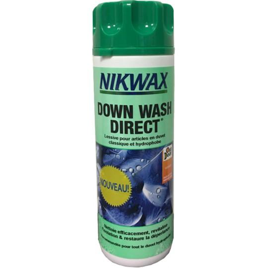 Lessive pour duvet plume DOWN WASH DIRECT 300ml Nikwax