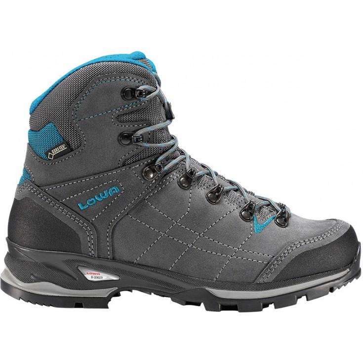 Chaussure de randonnée Gore-Tex femme Vantage GTX Mid anthracite-turquoise Lowa