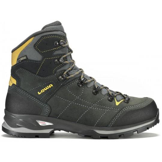 bonne réputation gamme exclusive disponible Chaussure de randonnée VANTAGE GTX MID anthracite-jaune Lowa