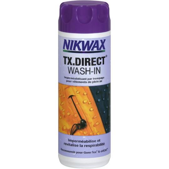 Imperméabilisant pour Gore-Tex Wash-in Tx Direct 300ml Nikwax