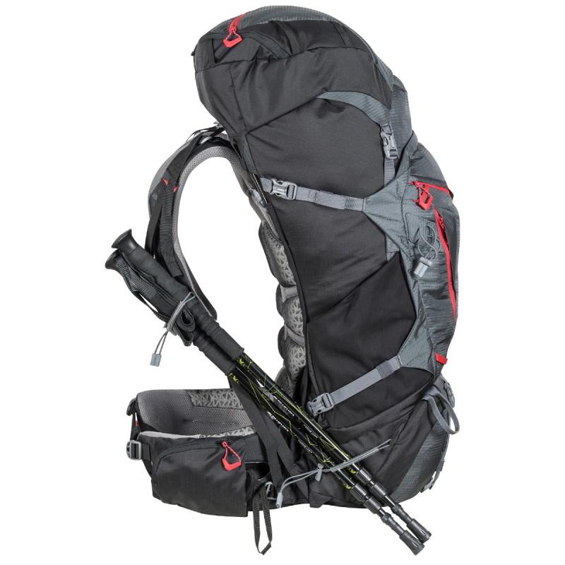 sac dos trekking mount shasta 65 10 gris millet montania sport. Black Bedroom Furniture Sets. Home Design Ideas