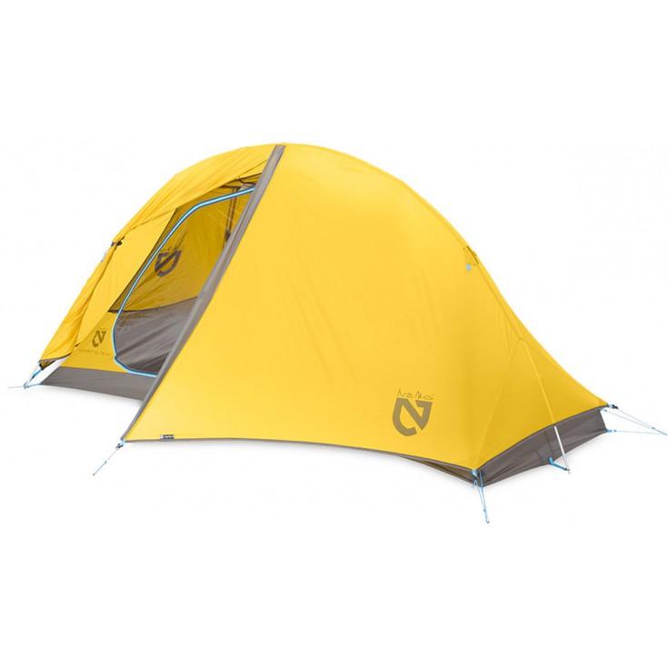 Tente Hornet ELITE 1P Ultralight jaune Nemo