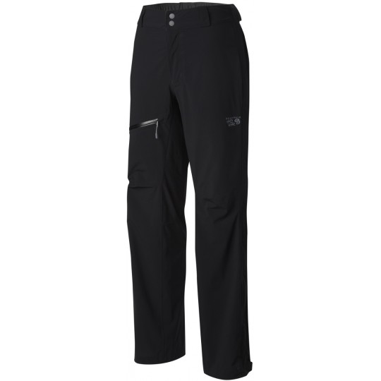 Pantalon imperméable femme 2.5L Stretch OZONIC PANT noir Mountain Hardwear