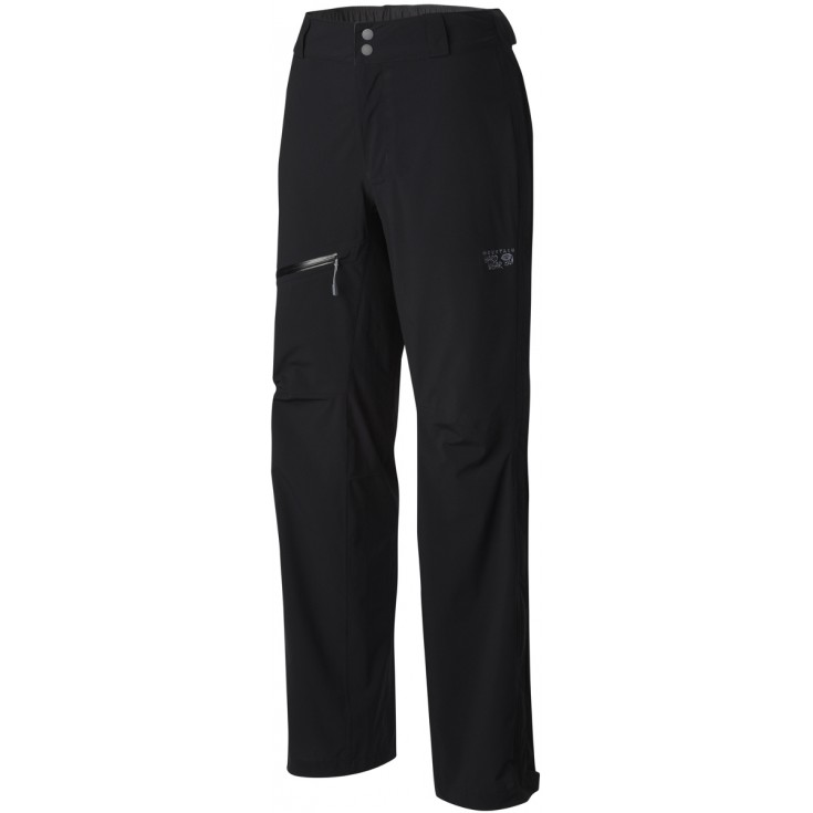 Pantalon imperméable femme 2.5L Stretch OZONIC PANT noir Mountain Hardwear