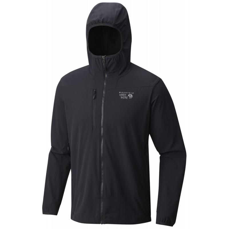 veste softshell homme super chockstone hooded jacket black mountain hardwear montania sport. Black Bedroom Furniture Sets. Home Design Ideas