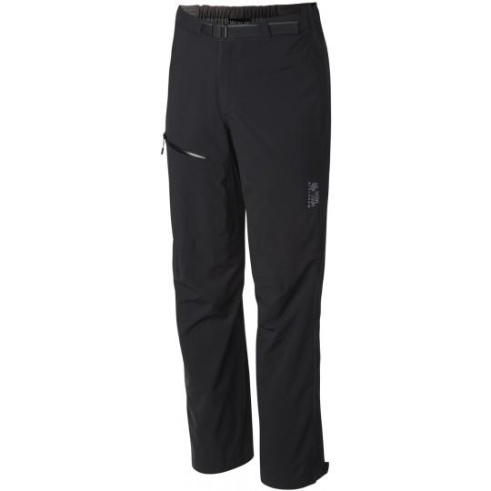 Pantalon imperméable homme 2.5L STRETCH OZONIC PANT noir Mountain Hardwear