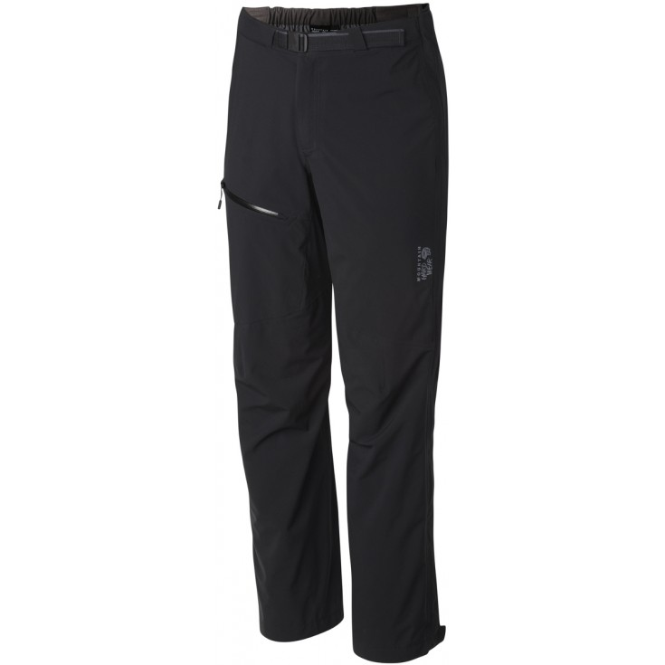 Pantalon imperméable homme 2.5L STRETCH OZONIC PANT noir Mountain Hardwear