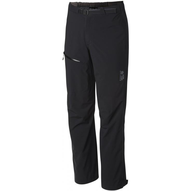 Homme 2 5l Ozonic Surpantalon Mountain Pant Stretch Imperméable Noir 54HCn6