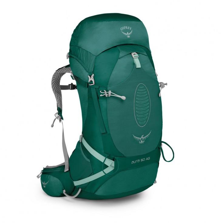 Sac à dos randonnée femme Osprey AURA AG 50 Rainforest Green