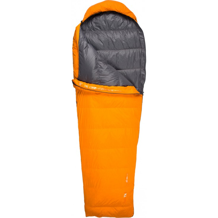 Sac de couchage plume TREK TK2 REG orange SeaToSummit