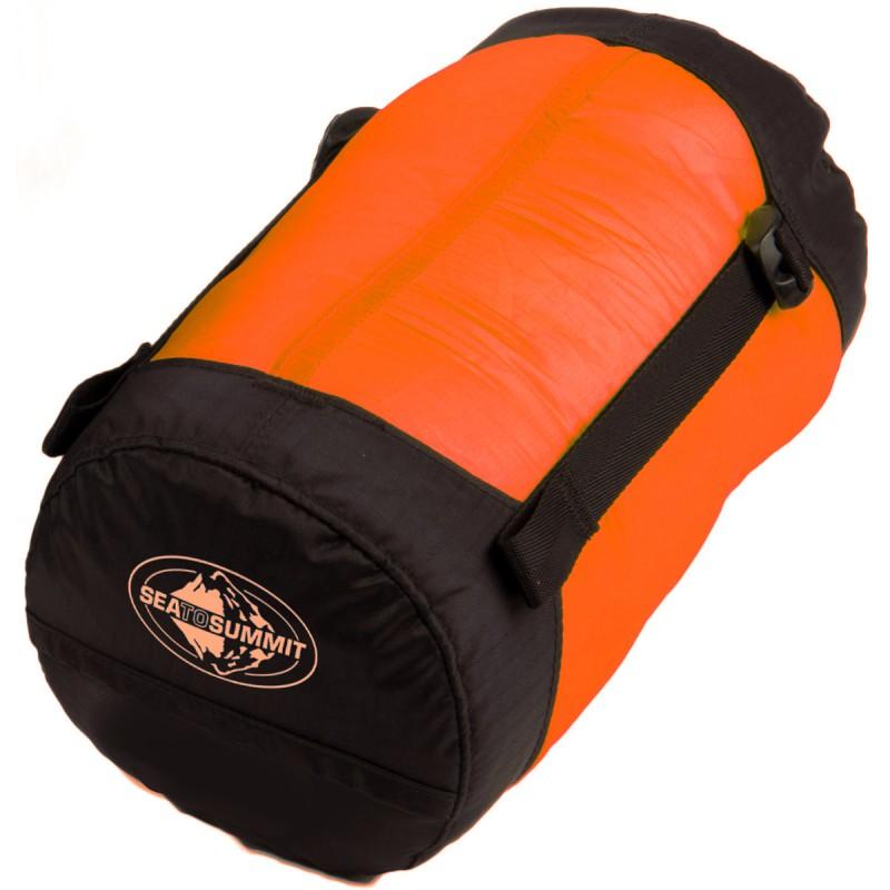 sac de couchage orange