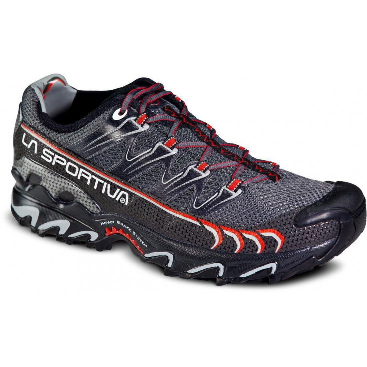 Chaussure Ultra Raptor grey-red La Sportiva