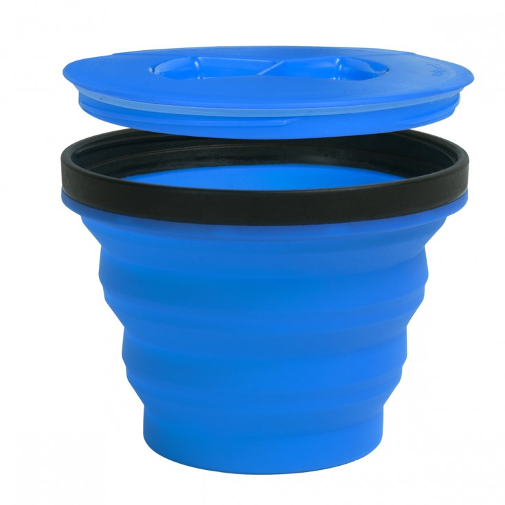 Mug X-Seal & Go MEDIUM 415ml bleu SeaToSummit