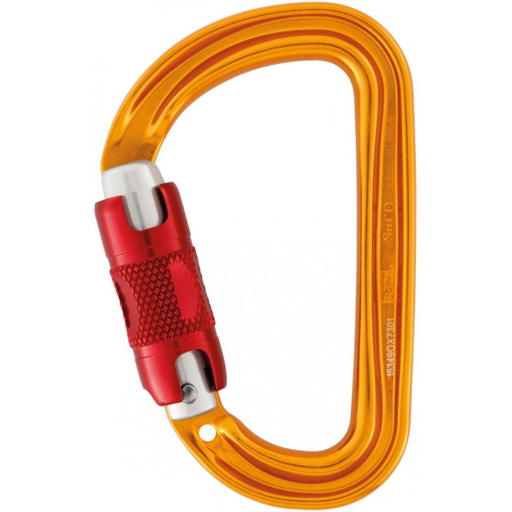 Mousqueton SM'D Twist Lock Petzl