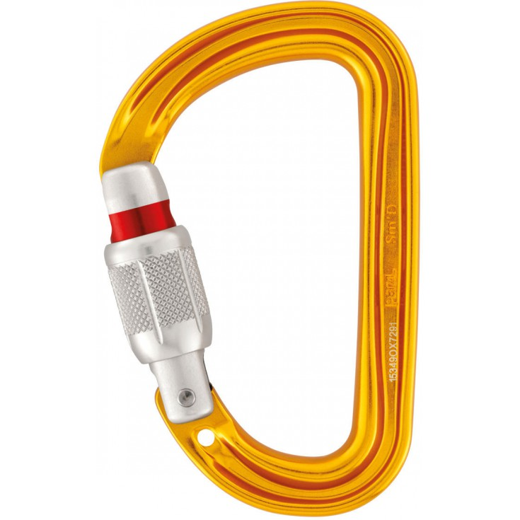 Mousqueton SM'D Screw Lock Petzl