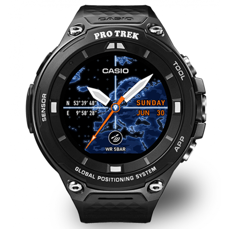 montre altim tre gps casio wsd f20 bkaae pro trek montania sport. Black Bedroom Furniture Sets. Home Design Ideas