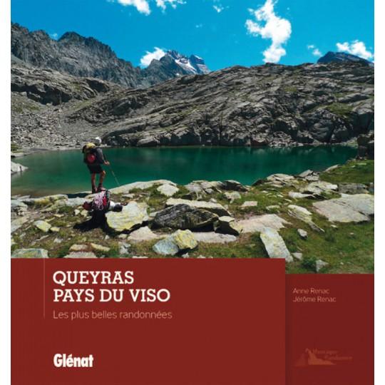 Livre QUEYRAS PAYS DU VISO - Les plus belles randonnées - Renac - Editions Glénat