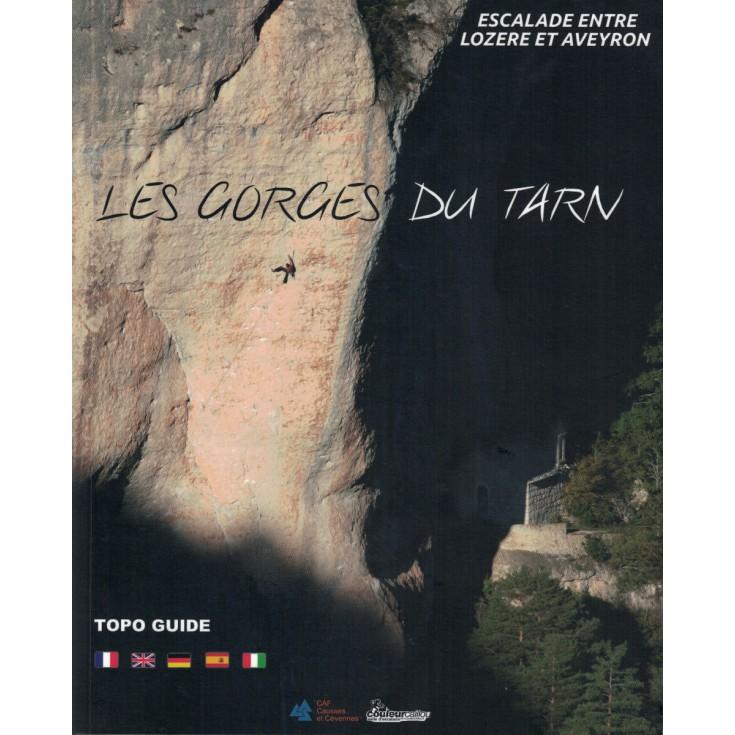 Livre Topo Escalade LES GORGES DU TARN - CAF Causses et Cevennes