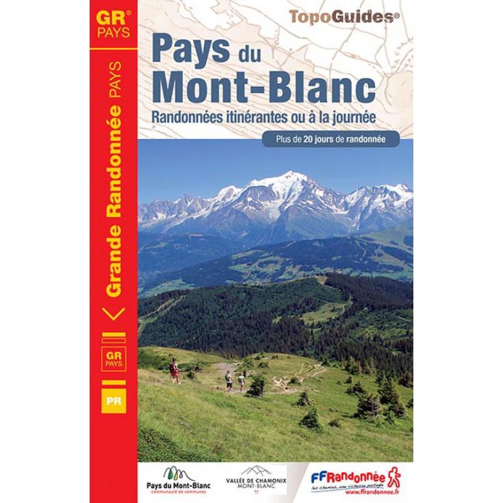 Livre TopoGuides PAYS DU MONT BLANC - FFRandonnée