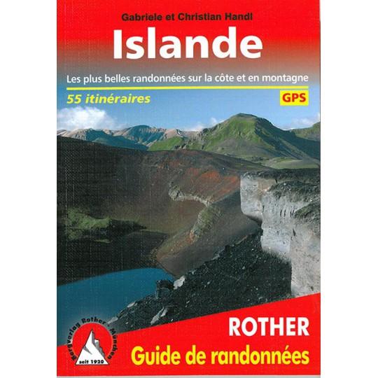 Livre Guide de Randonnée ISLANDE -Handl- Editions Rother