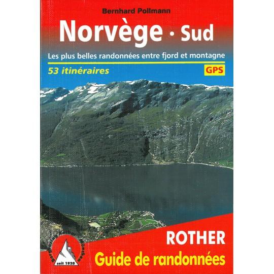 Livre Guide de Randonnée NORVEGE SUD -Bernhard Pollmann- Editions Rother