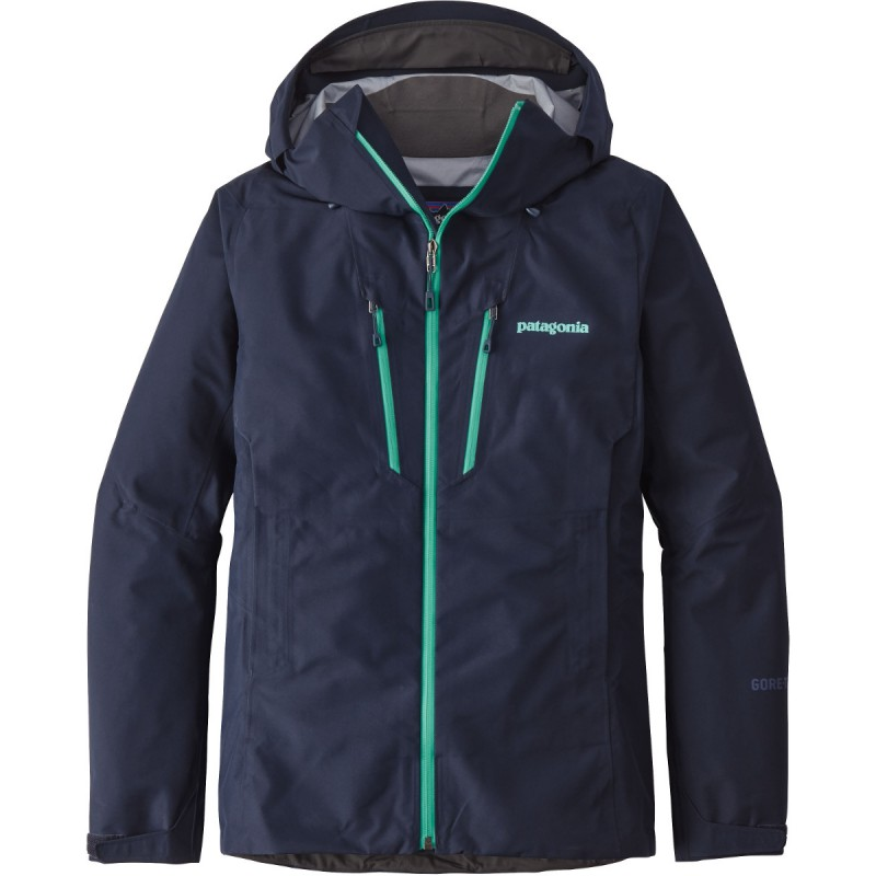 veste gore tex femme triolet jacket blue patagonia montania sport. Black Bedroom Furniture Sets. Home Design Ideas