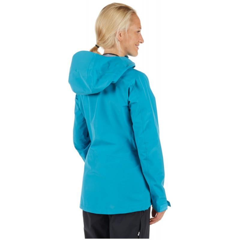 veste gore tex femme ridge hs hooded jacket aqua mammut montania sport. Black Bedroom Furniture Sets. Home Design Ideas