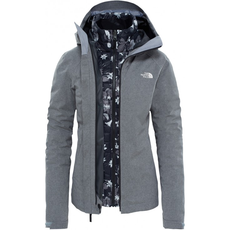veste imperm able femme thermoball triclimate grey the north face montania sport. Black Bedroom Furniture Sets. Home Design Ideas