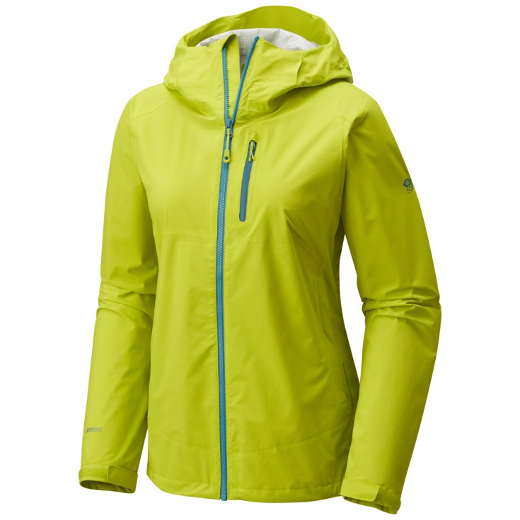 Veste imperméable femme 2.5L Stretch THUNDERSHADOW Jacket Fresh Bud Mountain Hardwear