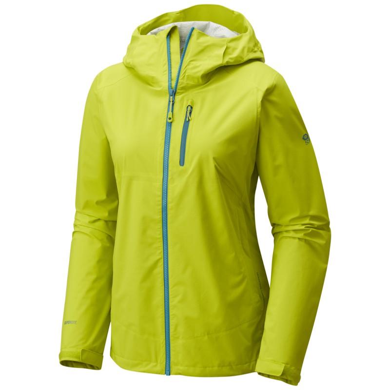 Veste imperméable femme 2.5L Stretch THUNDERSHADOW Jacket Fresh Bud  Mountain Hardwear 765776766d2c