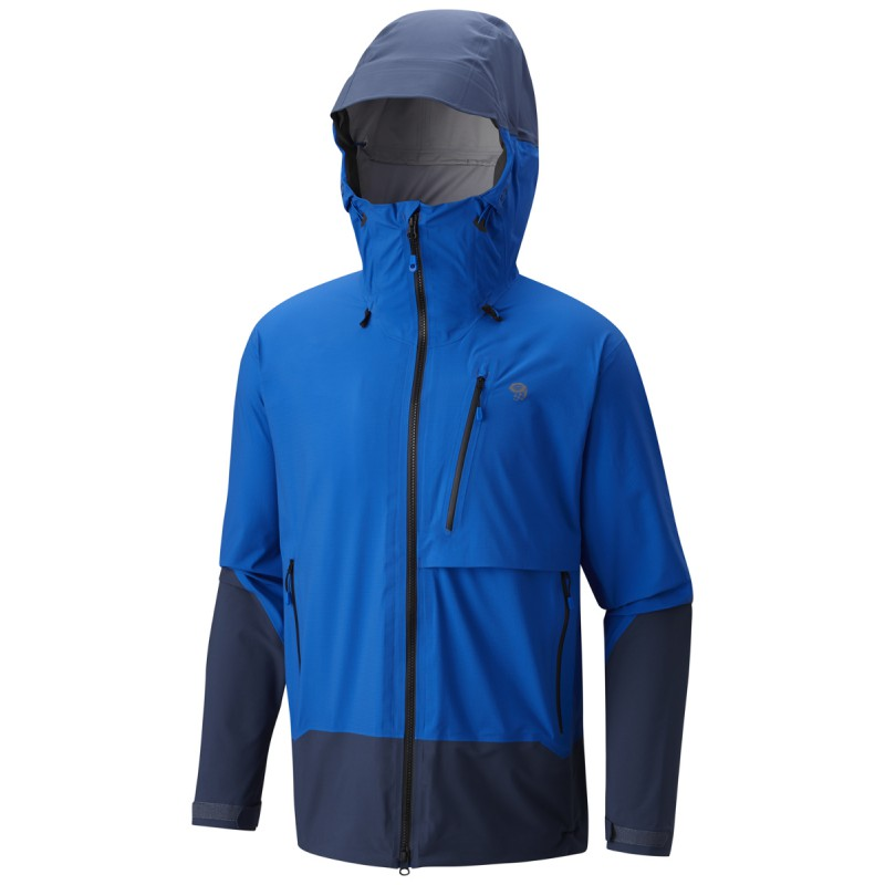 veste imperm able homme 3l superforma jacket blue mountain hardwear montania sport. Black Bedroom Furniture Sets. Home Design Ideas