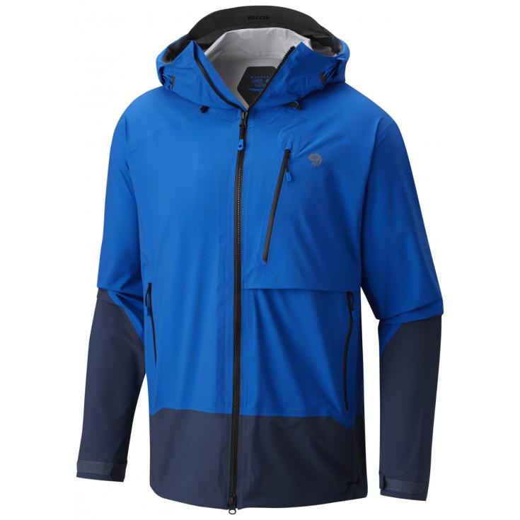 Veste imperméable homme 3L SUPERFORMA JACKET Blue Mountain Hardwear
