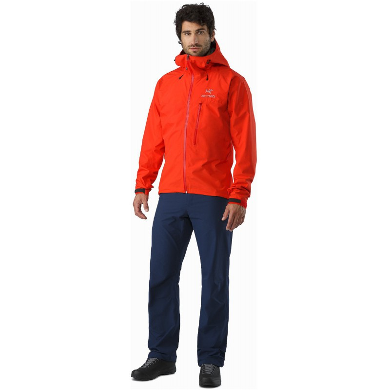 veste gore tex homme alpha sl jacket magma arcteryx. Black Bedroom Furniture Sets. Home Design Ideas
