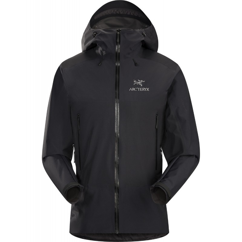 veste gore tex homme beta sl hybride jacket black arcteryx. Black Bedroom Furniture Sets. Home Design Ideas