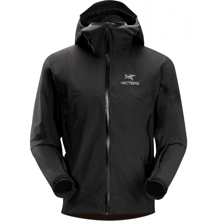 veste gore tex homme beta sl jacket black arcteryx. Black Bedroom Furniture Sets. Home Design Ideas