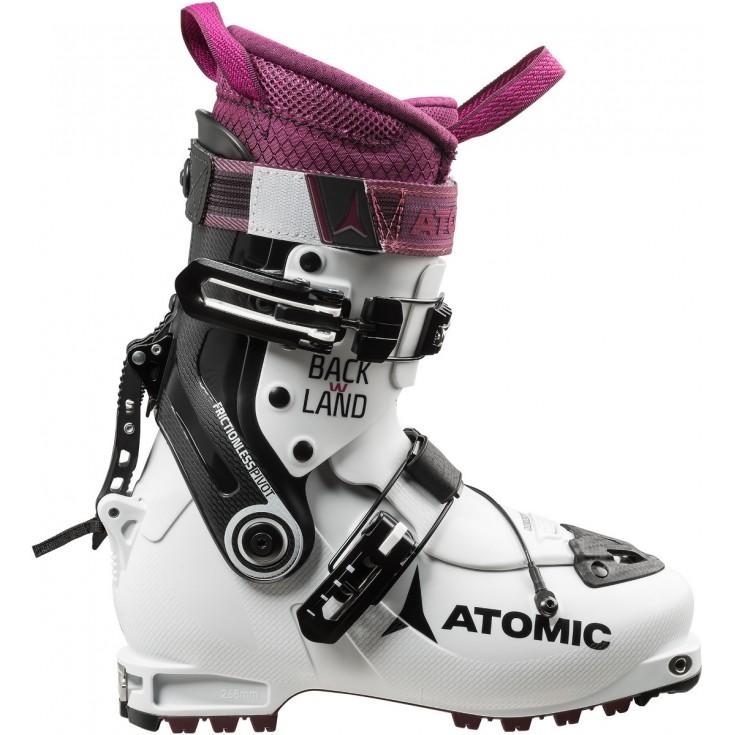 59558afb2aa Chaussure ski de randonnée femme Backland Women White-Purple Atomic 2019