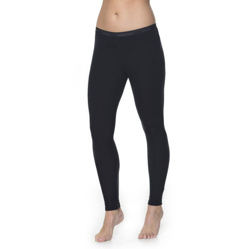 6a297fc2785 ... Collant laine Merino femme 200 Everyday Leggings Black Icebreaker ...