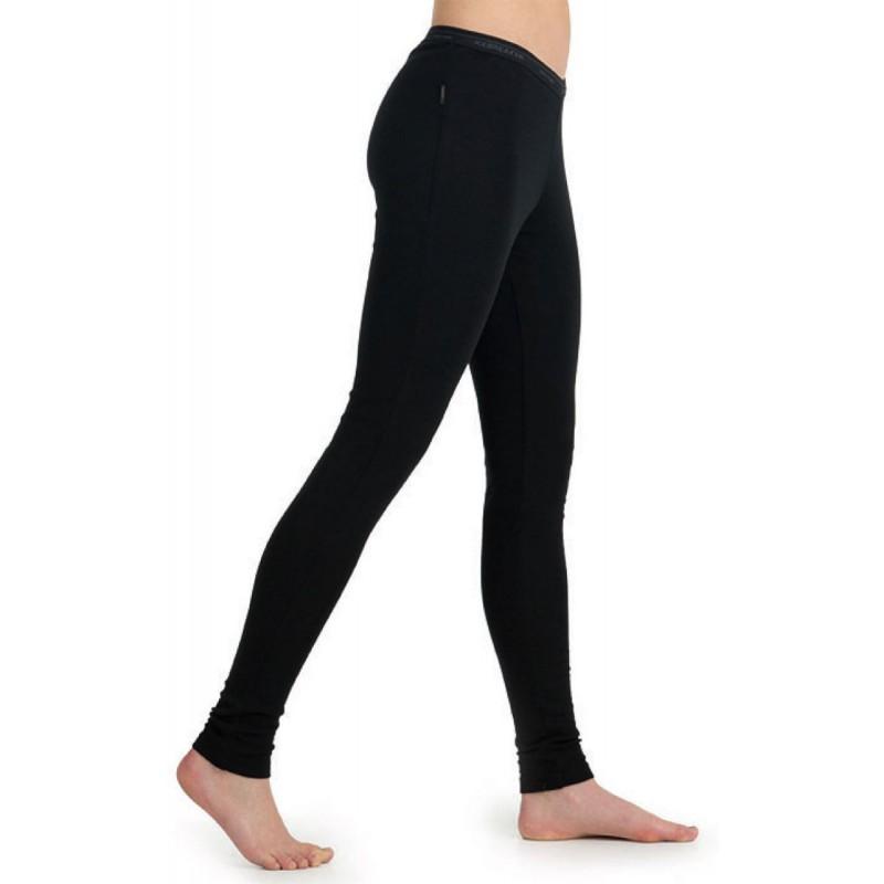 collant laine merino femme 200 everyday leggings black. Black Bedroom Furniture Sets. Home Design Ideas