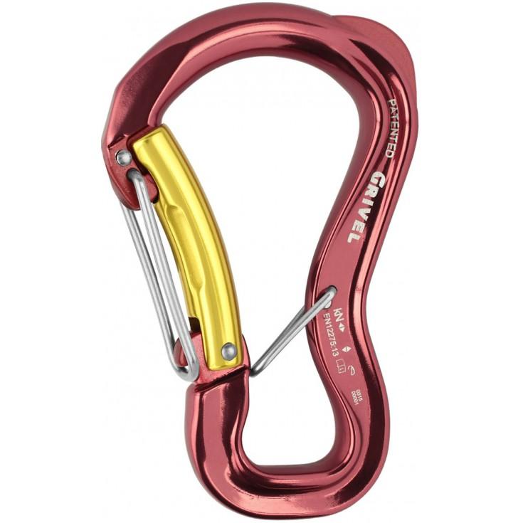 Mousqueton K10G CLEPSYDRA S Twin Lock Grivel