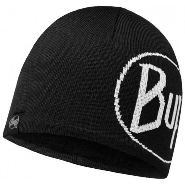 Bonnet fin KNITTED & POLAR HAT Lech Black Buff