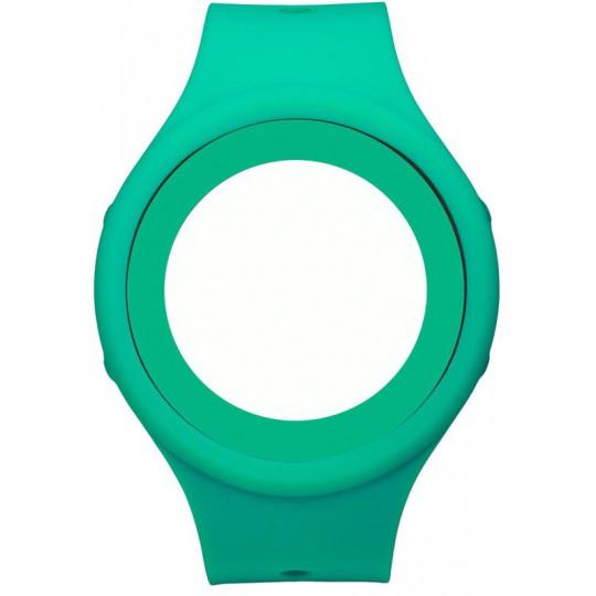 Bracelet de rechange vert d'eau pour montre GRANITA Air'N Outdoor